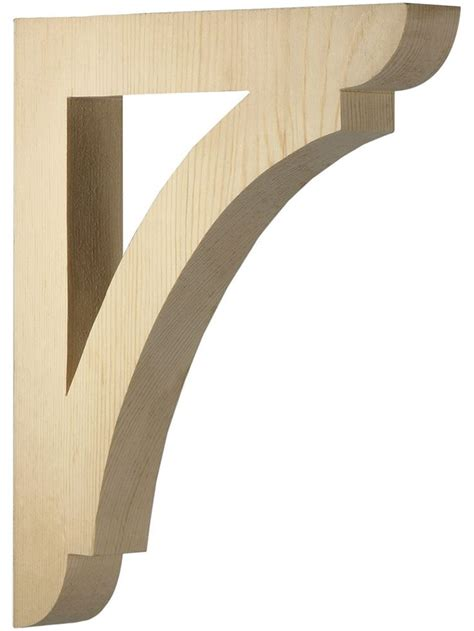 Wooden Shelf Corbels corbels and brackets large pine shelf or porch bracket 12 quot x 10 1 2 quot x 1 1 2 quot from house of