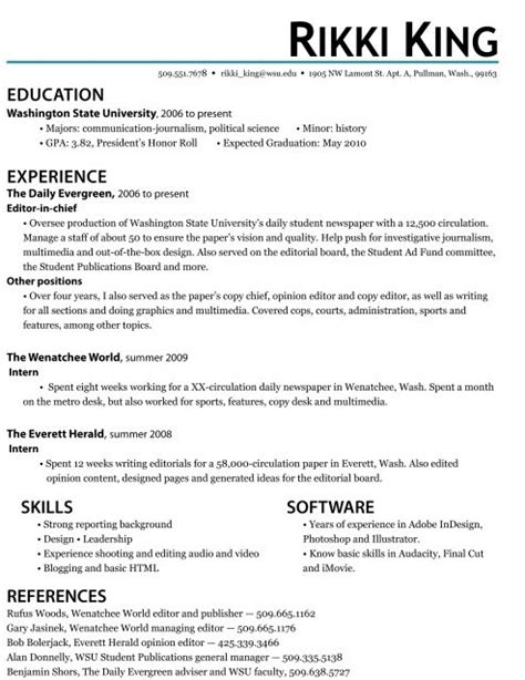resume objective exles for internships accounting intern resume cover letter