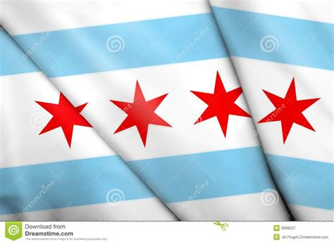 flag  chicago usa royalty  stock photography image