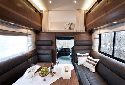 Interior Sles by Vario Alkoven 950 Motorhome With Motorcycle Garage
