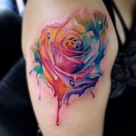 watercolor tattoos miami inkaholik tattoos piercing studio in miami fl kendall