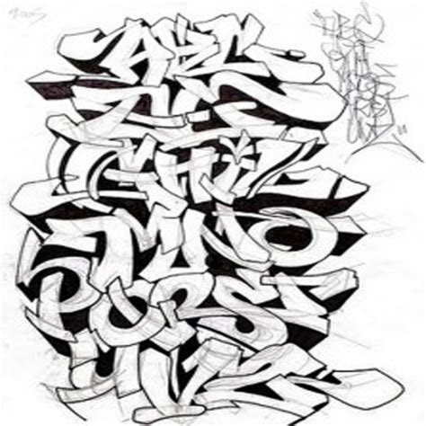 stylish graffiti graffiti font