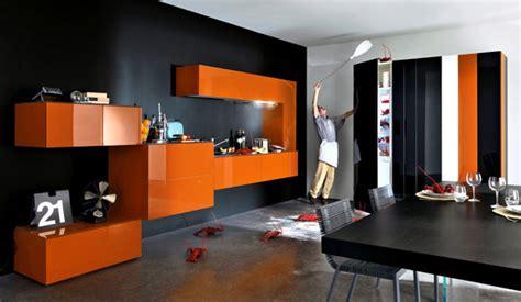 orange kitchen design orange kitchens