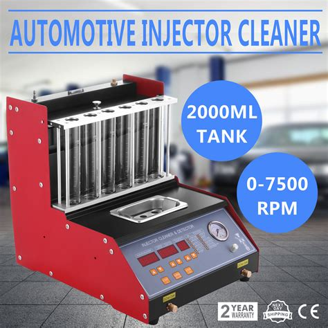 Gp Fuel System Cleaner Kantor Pos tq 6 petrol fuel injector cleaner tester ultrasonic nozzle cleaning injection ebay