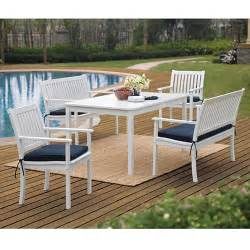 White Patio Furniture Sets white patio furniture walmart com