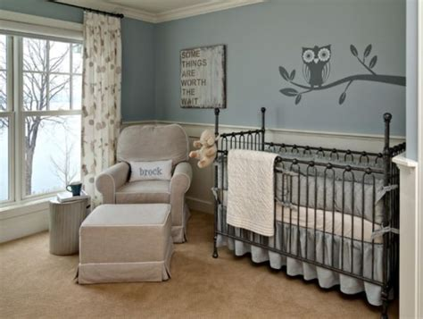 gray baby room modern nursery design tips