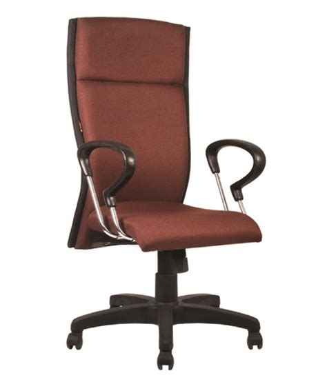 Maroon Office Chair by Ff Maroon Finish Office Chairs Buy At Best