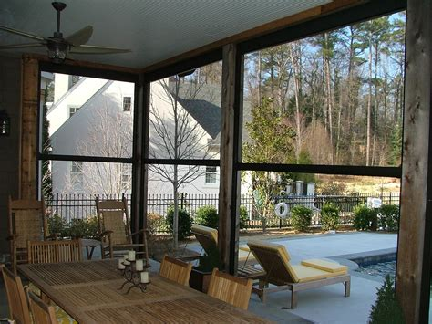 retractable patio shades solar screens palm