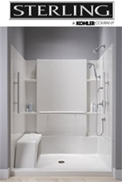 Sterling Walk In Shower by Oshkosh Walk In Showers 920 215 0337 Accessible Bath Solutions Ada Shower Installation