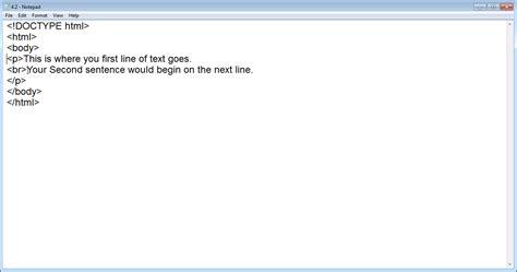 Html Format Line Break   add a line break in html tutorial teachucomp inc
