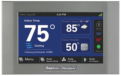 american standard nexia home intelligence automation