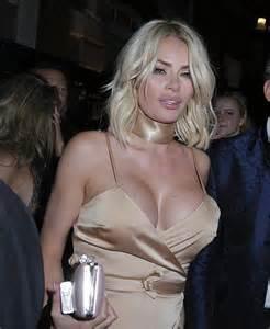 Worse for wear chloe sims narrowly avoids wardrobe malfunction as she