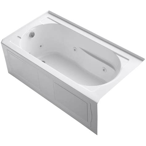 5 ft jacuzzi bathtub kohler devonshire 5 ft acrylic whirlpool bath tub with