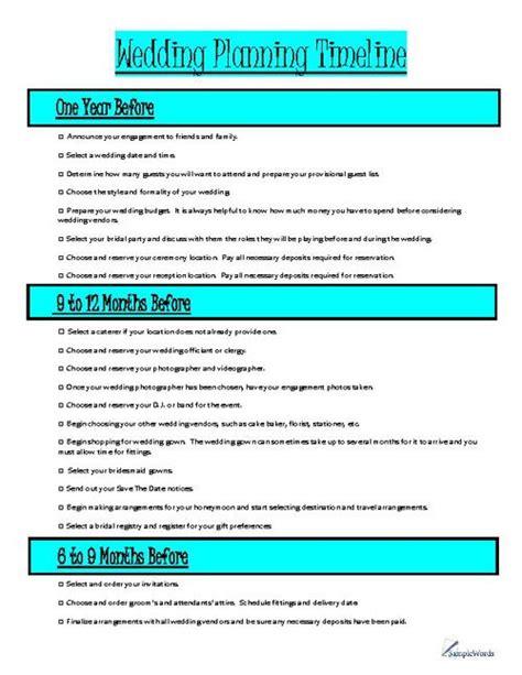 Wedding Planning Timeline Organizer Wedding Planning Timeline Wedding Planning And Wedding Wedding Planning Timeline Template