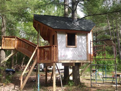 baumhaus konstruktion construction dan advanced tree house building
