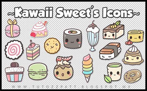 imagenes de kawaii de comida tutozzpatt iconos kawaii animales comida cute