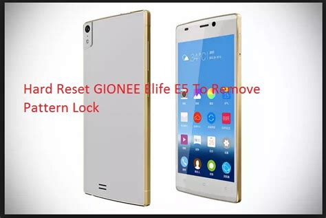 pattern unlock gionee m2 how to hard reset phone when you forgot lock pattern