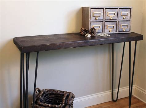 industrial style console table finds industrial console table homegirl