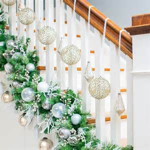 Banister Christmas Decorations Diy Christmas Garland Ideas