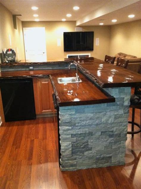 wood bar top counter tops bar tops slabs of wood of bucks county