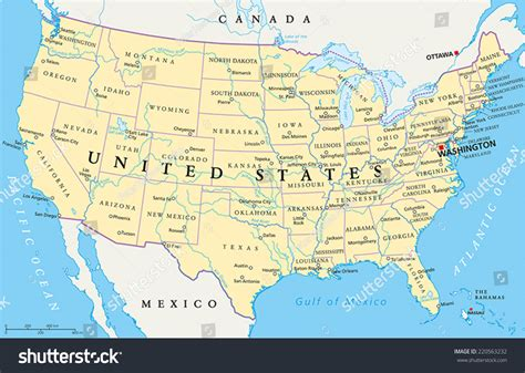 map of united states of america with major cities map of the united states with rivers lakes and mountains