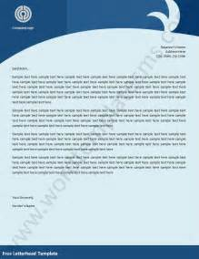 ms word templates free 7 best images of sle business letterhead templates