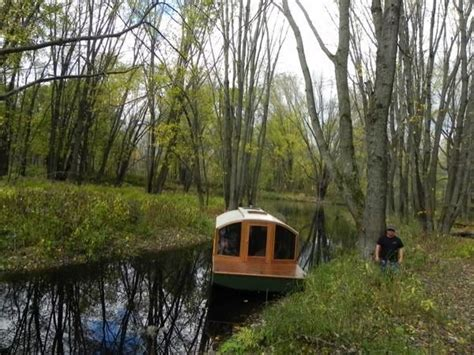 micro house boat man designs micro houseboat you can build for cheap
