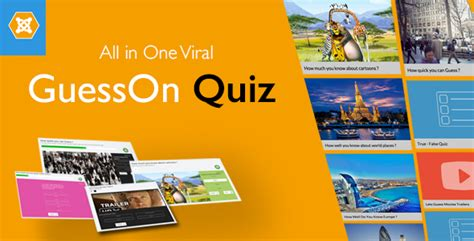 quiz themed download guesson all in one viral quiz joomla theme for u