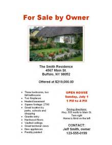 for sale by owner flyers