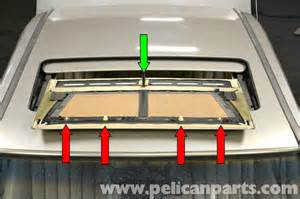 Mercedes Sunroof Mercedes 190e Sunroof Panel Removal And Replacement