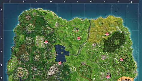 fortnite birthday cake fortnite birthday cake locations fortnite intel