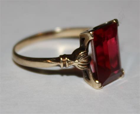 Antique Rings by Ruby Ring Antique Ruby Ring Value