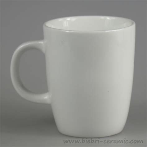 plain white ceramic coffee mugs