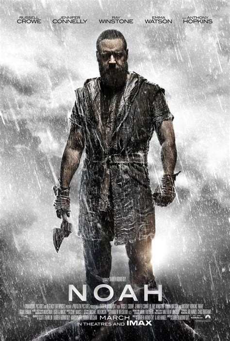 film noah noah new poster released for the epic tale