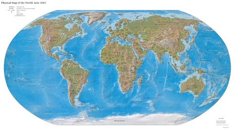 the world map world map physical map all maps of the world
