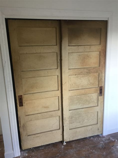 cassie     panel doors   sliding closet