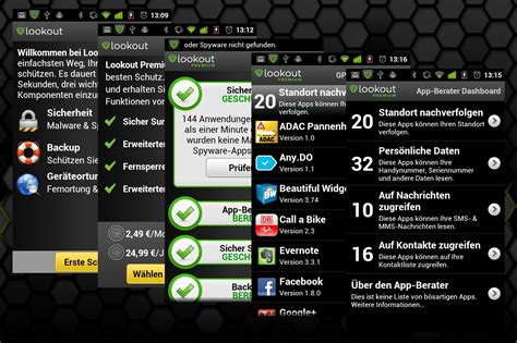lookout app android lookout mobile security in linux und ich