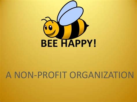 bee powerpoint template bee happy ppt