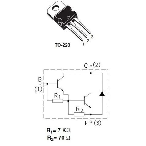 darlington transistor bc 618 transistor darlington tip120