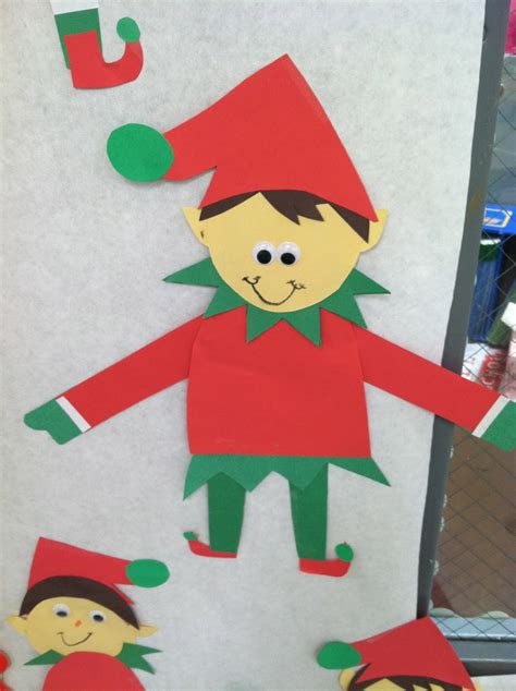 printable elf project life in first grade elf craft freebie