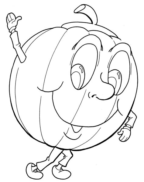 coloring pages 5 little pumpkins halloween coloring pages