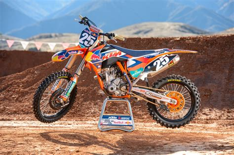motocross news 2014 up close with the 2014 factory red bull ktm motocross