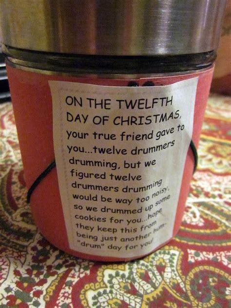 best 12 days of christmas gifts 17 best ideas about 12 days on cards secret santa gifts and pre