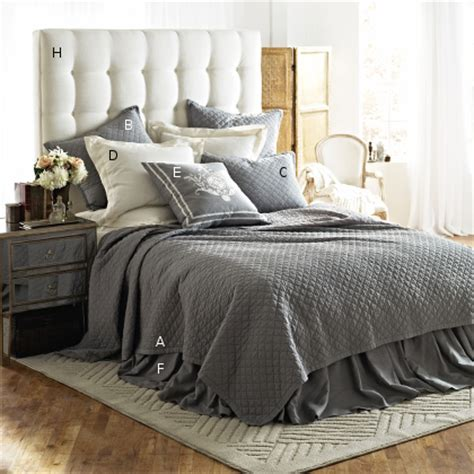 lili alessandra emily quilted bedding collection - Quilted Bed Linen
