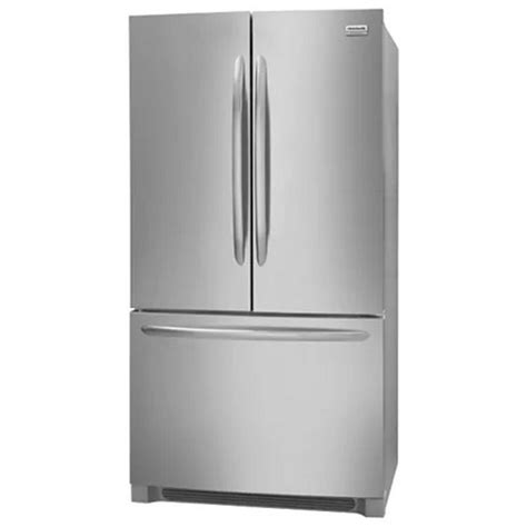 cabinet depth french door refrigerator reviews fghg2368tf frigidaire gallery 22 counter depth french