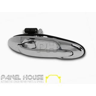 Toyota Calya Outer Handle Chrome Jsl toyota landcruiser 100 series outer rear chrome rhr door handle right new aftermarket