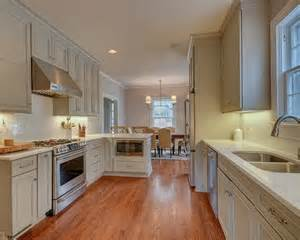 mid sized traditional galley kitchen design ideas remodels amp photos small eat with brown