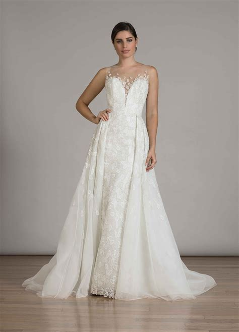 Wedding Dress Overskirt by Wedding Dresses Photos Style 6848 With Overskirt By