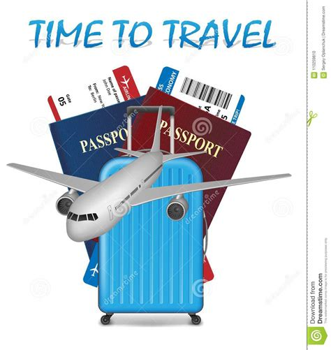 air travel international vacation concept business travel banner with airline tickets