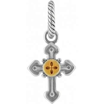 Golden Footwear Golden Sactum sanctum cross charm charms